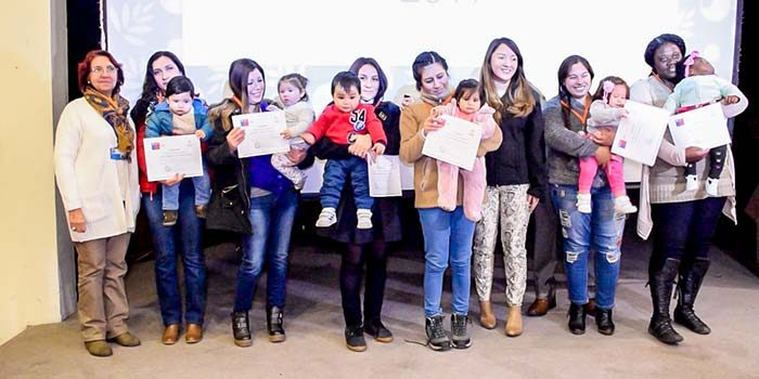 Madres e hijos de las 33 comunas de O'Higgins son reconocidas por Lactancia Materna Exclusiva