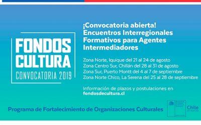 Ministerio de las Culturas abre convocatoria para Encuentros Interregionales Formativos