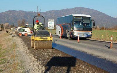 MOP O'Higgins informa avances en Carretera El Cobre