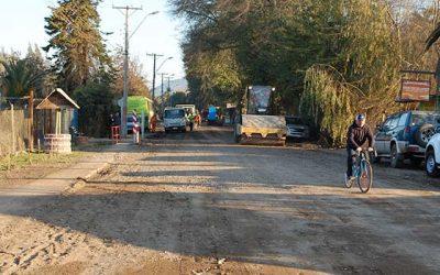 MOP O'Higgins inicia segunda etapa de pavimentación en camino Limahue de Malloa
