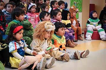 """Niños y niñas del Jardín Infantil """"Arco Iris"""" del Hospital Regional LBO celebraron su día"""