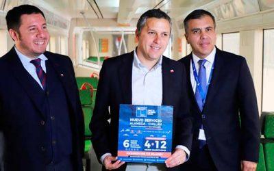 Nuevo servicio ferroviario anunciado por el Presidente Piñera permitirá mejorar la conectividad de O'Higgins