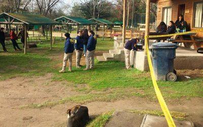 PDI investiga homicidio en camping del Lago Rapel