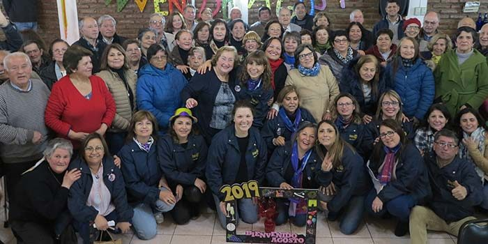Por segundo año consecutivo Rotarios de Santa Cruz le dan la bienvenida al mes de agosto