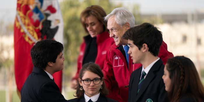 Presidente Piñera anuncia 100 nuevos Liceos Bicentenario de excelencia