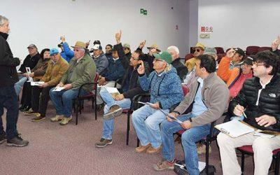 Productores de maíz del SAT Las Cabras se capacitaron en manejo de rastrojos
