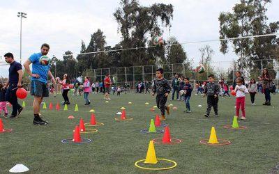 Rancagua celebra el día del niño con deportes todo el mes