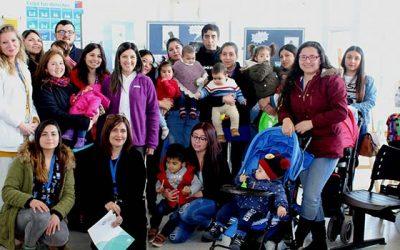 Salud Machalí promueve los beneficios de la Lactancia Materna Exclusiva por medio de sesiones fotográficas