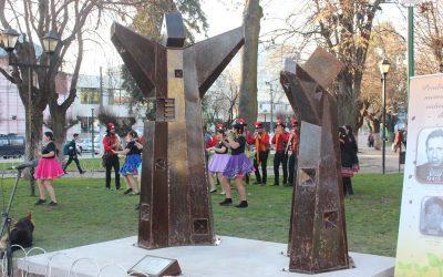 Se inauguró escultura para la valoración, educación y memoria en derechos humanos en San Fernando