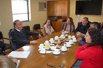 Seremi Obras Públicas inspecciona trabajos en Carretera El Cobre