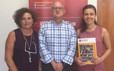 UOH formaliza convenio de colaboración e intercambio estudiantil con reconocida universidad española