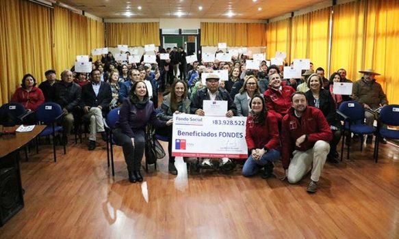 33 agrupaciones de Colchagua recibieron el Fondo Social Presidente de la República