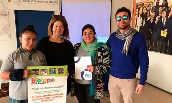 Atención directores y profesores: abiertas las inscripciones para participar del concurso de Biotopos 2019