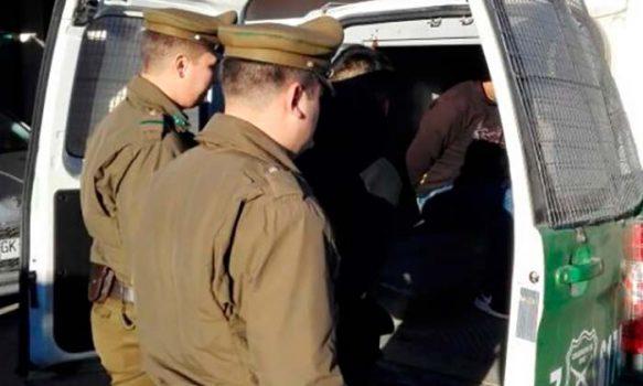 Carabineros logró la detención de un sujeto por infracción a la ley de drogas y amenazas con arma de fantasía