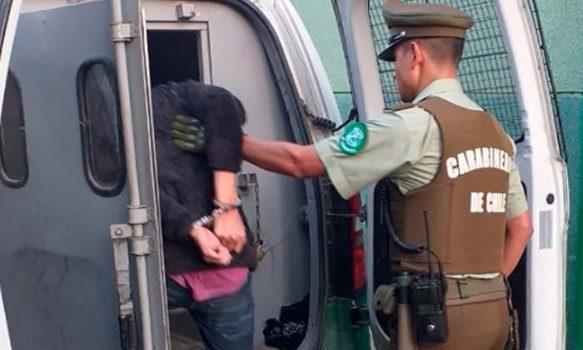 Carabineros logró la detención de un sujeto por robo en lugar no habitado