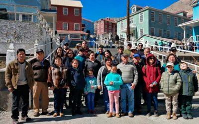 Con viaje de salineros y estudiantes de Cáhuil a Sewell culmina la conmemoración del Mes de la Minería
