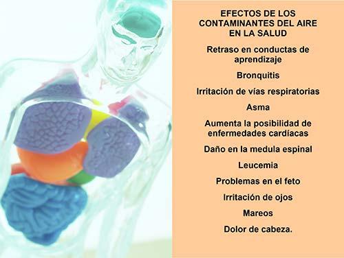 efectos en la salud