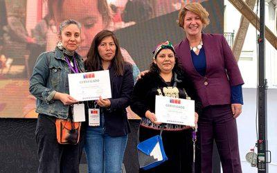 Emprendedoras de O'Higgins participan en la 8° versión de la ExpoFeria Emprendedoras Indígenas organizada