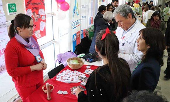 Exitosa primera feria satisfacción usuaria en el Hospital Regional