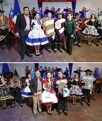 Funcionarios de la Dirección Regional de Gendarmería son los nuevos campeones de cueca
