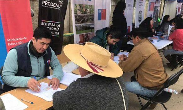 Gran participación de Gobierno En Terreno en localidad de Cáhuil