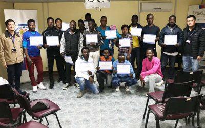 Hospital de Lolol finaliza exitoso ciclo de clases de español a comunidad haitiana