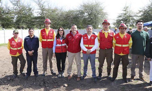 Inician construcción de Brigadas de Respuesta Rápida para el combate de incendios forestales de la región