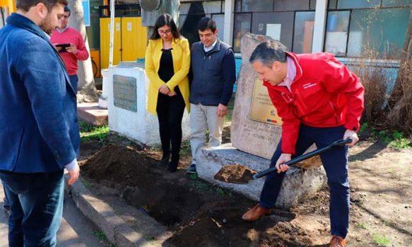 Intendente Masferrer da inicio a obras de conservación del Hospital de Coinco