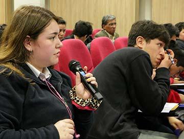 Jóvenes líderes de Rengo se capacitan en talleres de formación ciudadana