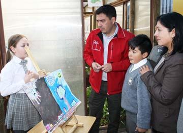 """Llaman a postular a niños y niñas al Concurso de Pintura """"El Cambio Climático en mi Región"""""""
