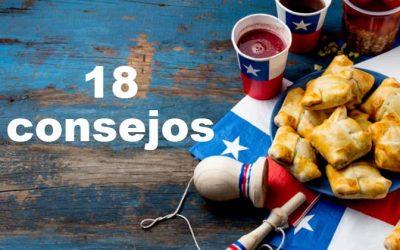 Los 18 consejos para disfrutar de manera saludable en estas Fiestas Patrias
