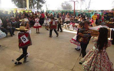 Masivo desarrollo de proyecto deshojando cultura en Agua Santa