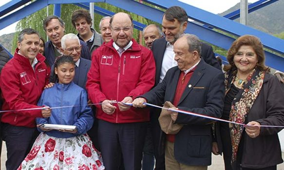 Ministro de Obras Públicas inauguró obras de mejoramiento de APR Pelequén Viejo-Portezuelo en Malloa