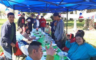 Municipio de Graneros atendió como reyes a personas en situación calle