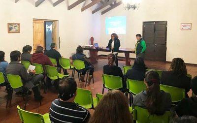 Municipio de Graneros y Conaf realizan taller de arbolado urbano
