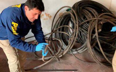 PDI de Rancagua detuvo en Santiago una persona que se dedicaba al robo de cables