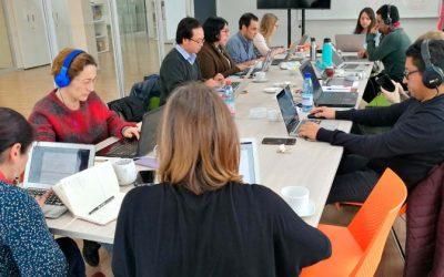 Primer Grupo de Escritura UOH apoya la producción científica de la Universidad
