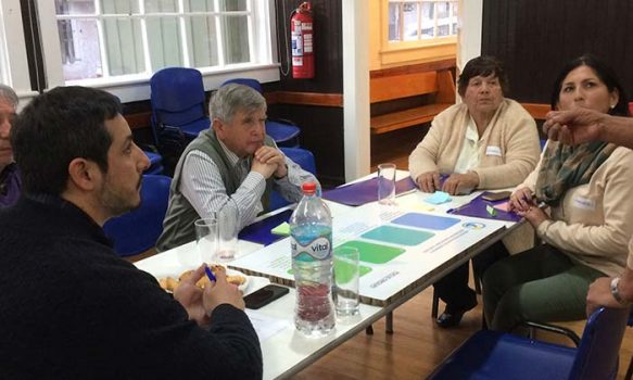 Regantes del Cachapoal iniciaron programa de Educación Ambiental y Participación Comunitaria en Coya