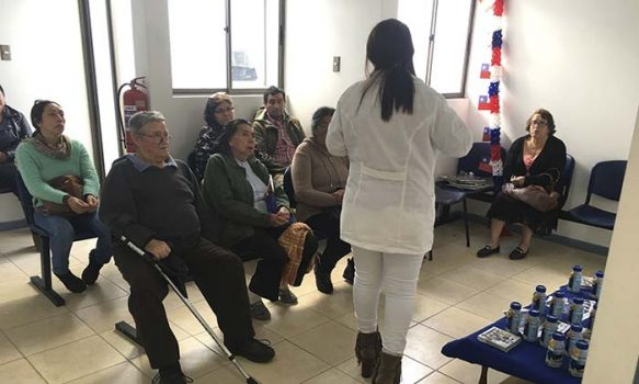 """Salud Machalí efectuó charla """"Prevengamos la Sarcopenia, a través de estilos de vida saludables"""""""