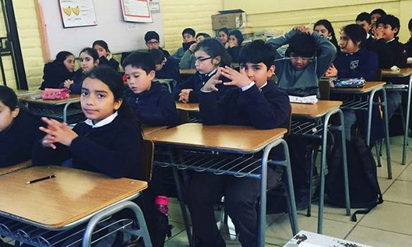 Senda Previene Pichilemu realiza charlas preventivas en escuela Digna Camilo Aguilar