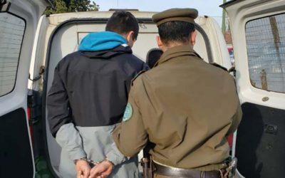 Carabineros logró la detención de un sujeto por el delito de abigeato