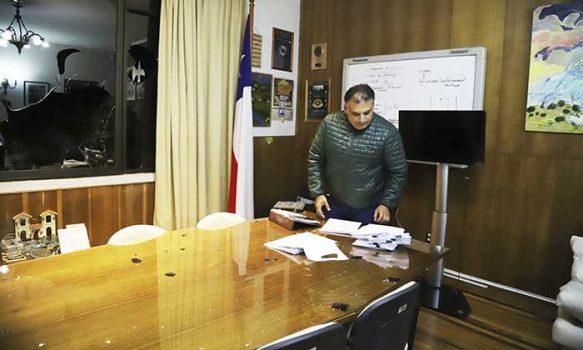 Alcalde de San Fernando condena ataques al municipio