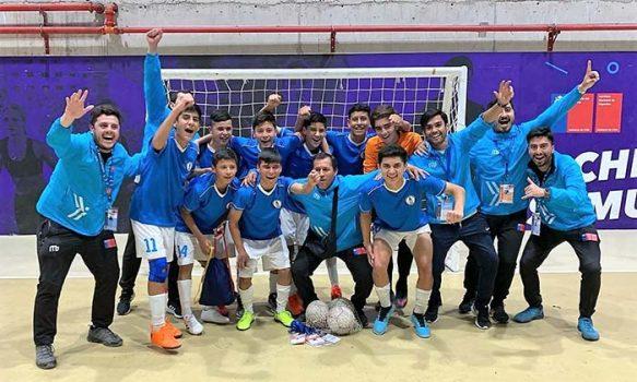 ¡Campeones nacionales! región de O'Higgins obtiene la corona en Futsal