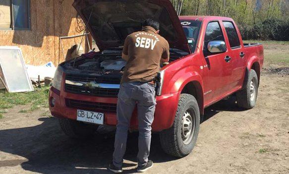Carabineros de la SEBV Rancagua detuvo un sujeto por el delito de receptación
