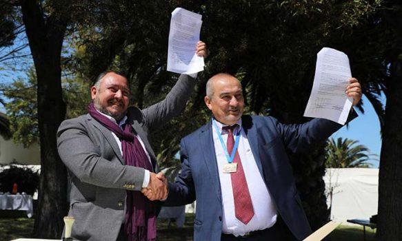 Coltauco y Graneros firman convenio que beneficia a adultos mayores