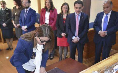 Corte de Rancagua, top de San Fernando e instituciones del sector justicia firman protocolo para lectura de sentencias por videoconferencia