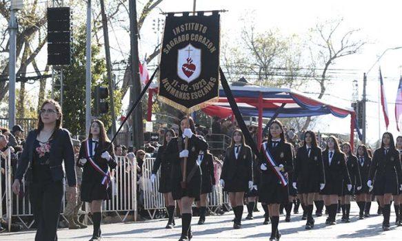 Desfile del 2 de octubre marca nuevo hito al reunir a más de 15 mil personas en las calles de Rancagua