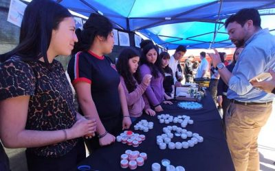 Estudiantes de Las Cabras aprendieron a fabricar cremas, ungüentos y té