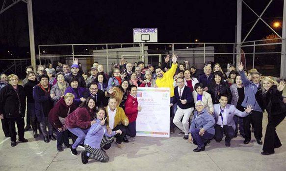 Familias de población Santa Teresa reciben con brazos abiertos al programa Quiero Mi Barrio