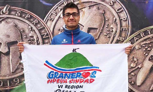 Graneros apoya a Campeón Sudamericano que sufrió una descompensación en competencia mundial de Spartan Race